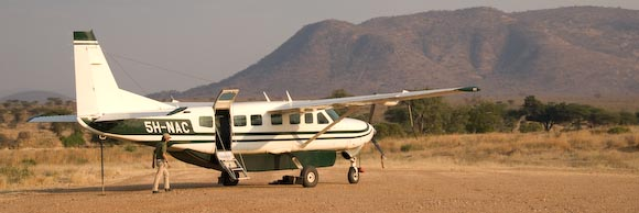 Use Safari Air Link to get to Ruaha National Park by Air